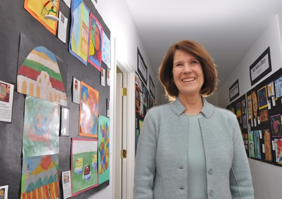 Judy Sleeth, executive director of Art in Action