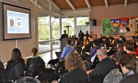 Facebook sponsored marketing seminar at Quadrus in Menlo Park