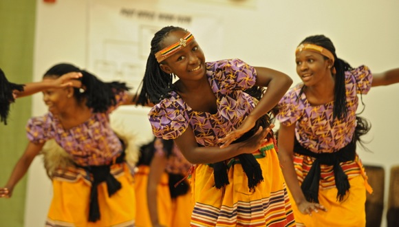 Spirit of Uganda at Encinal School in Atherton, CA
