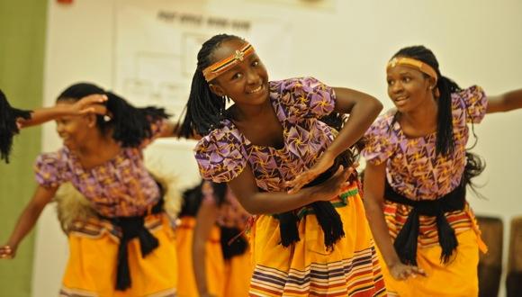 Spotted: Spirit of Uganda at Encinal School