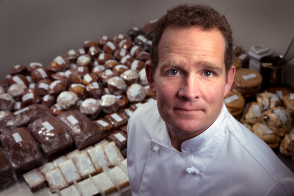 Keith Bowerman, owner of Bluchild Bakes Goods