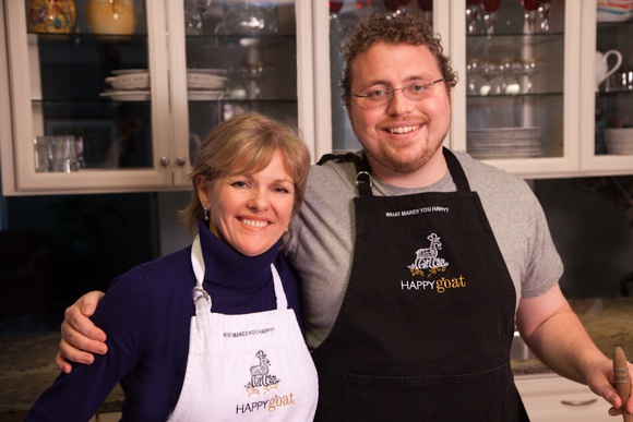 Sharon and Michael Winneke of Happy Goat caramel and sauces