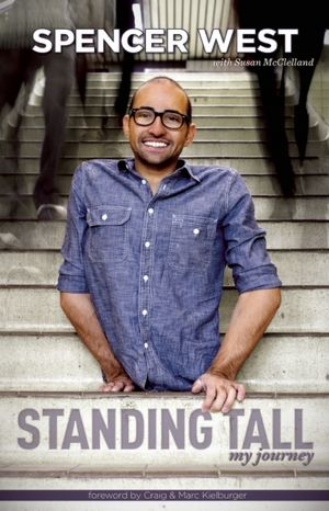 Spencer West, author of Standing Tall, My Journey