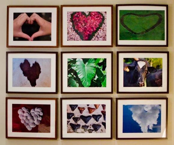 Valentine heart photos