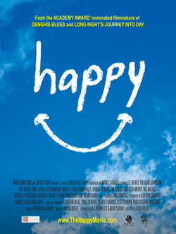 Happy film poster