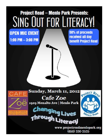 Sing out for literacy