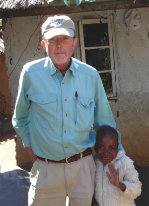 GAIA founder Bill Rankin in Malawi