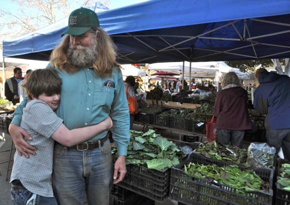 Grant Brians of Heirloom Organics
