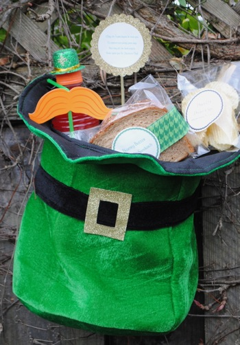 Students celebrate St. Patrick's Day with annual Leprechaun Lunch at Oak Knoll School