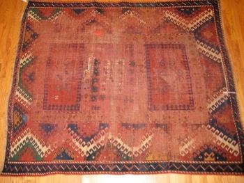 Journey of a 19-century rug's restoration begins in Menlo Park