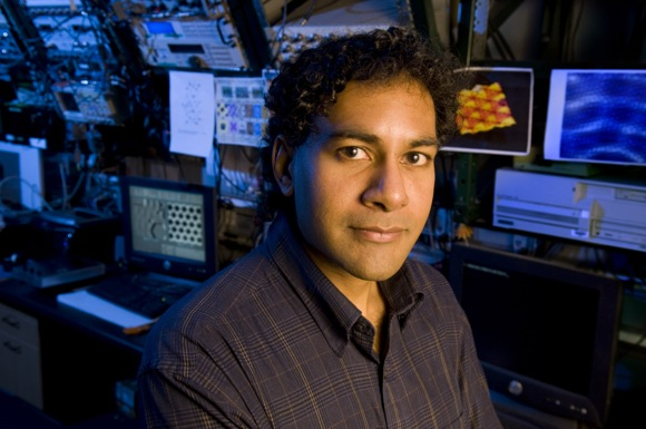 Hari Manoharan, associate professor of physics at Stanford and a member of SLAC's Stanford Institute for Materials and Energy Sciences