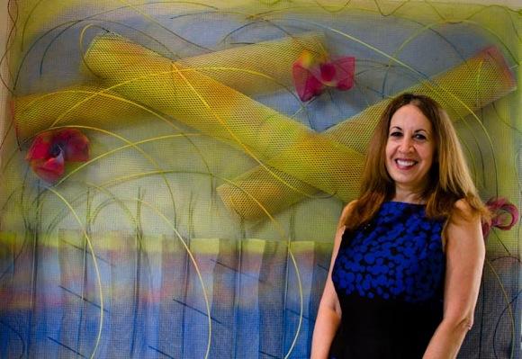 Artist Sophia Bloch