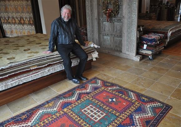 Journey of a 19-century rug's restoration begins in Menlo Park