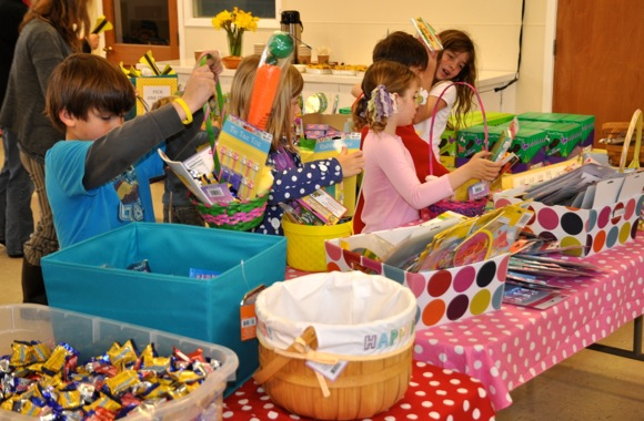 Spotted: 300 Easter baskets being built for kids in homeless shelters