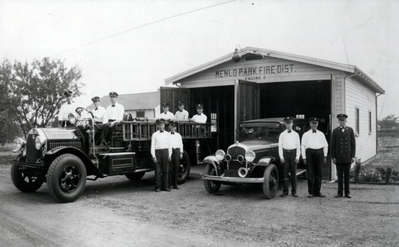 Menlo Park Fire Protection District Station 2 in the the 20s