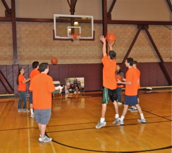 Hoops of Hope at M-A gym
