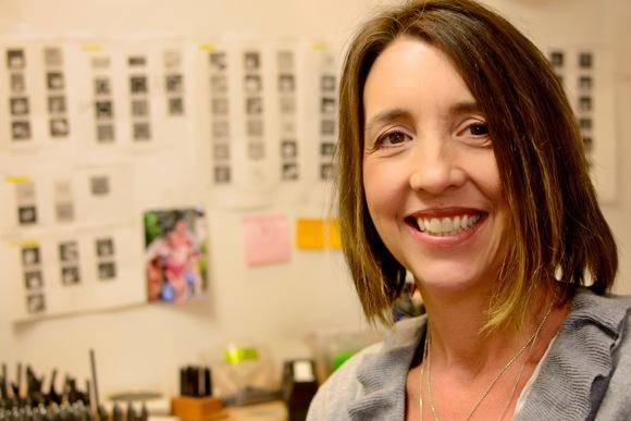 Menlo Park's resident jewelry maker is Beth Philbin