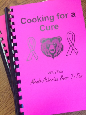 Cooking for a Cure cookbood by the M-A Bear TaTas