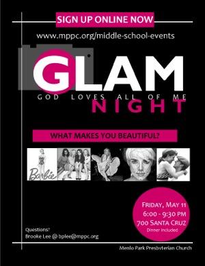 GLAM flyer