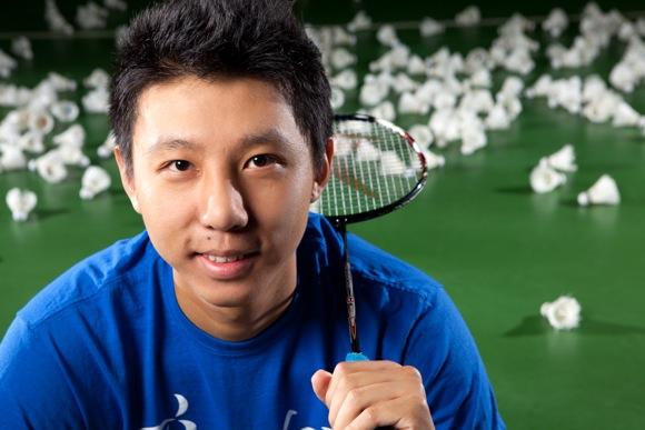 badminton champion Jacky Zhang