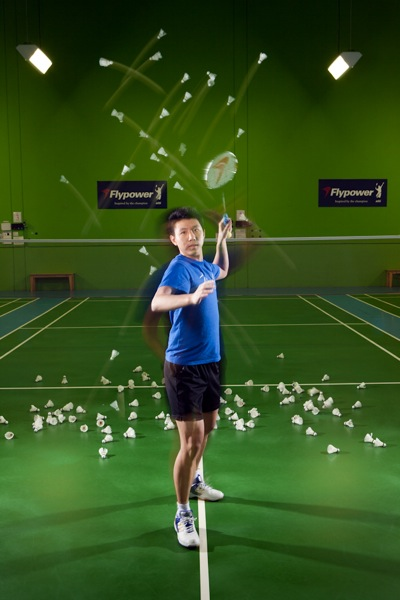 Jacky Zhang, badminton player