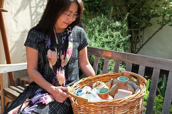 Ceramic artist Misako Kambe is featured at Portola Art Gallery in November