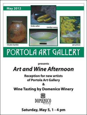 Portola Art Galley May poster