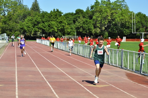 Special Olympics track and field events at Menlo School