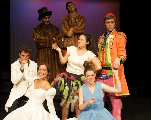 Taming of the Shrew in performance at Menlo School