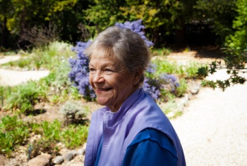Tina Dreyer at California Native Plant Garden