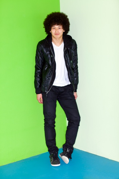 My Style: Walter Mak sports an awesome Afro