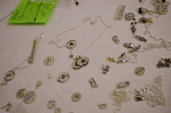Menlo Park's resident jewelry maker is Beth Philbin