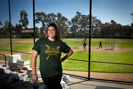 Ali Recht moves from dance to the dugout, with a few steps along the way