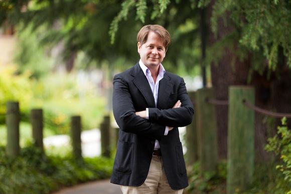 Menlo Park-based author John Leake