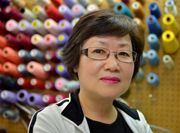 Seamstress Nancy Lee's secret is in the pinning