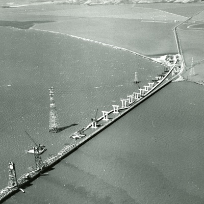 Menlo Park's Dumbarton Bridge — scheduled for closure this weekend — is a bridge of many firsts
