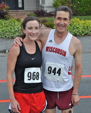 2011 winners of Otter Run - Heather Tanner and John Hale