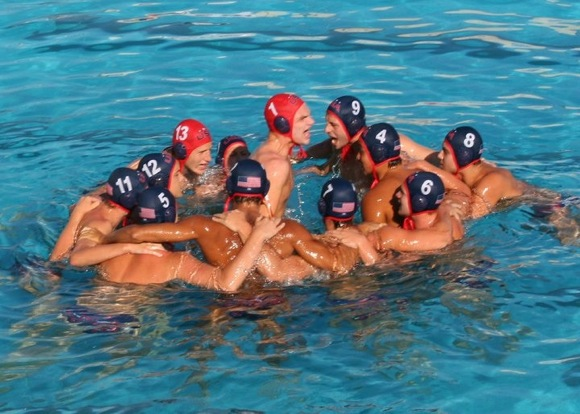 Alex Gow played water polo for Menlo Atherton High School