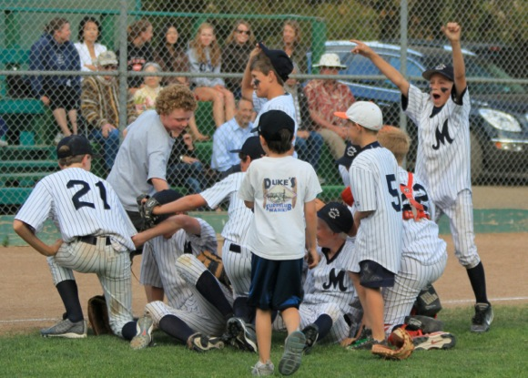 Morey's of Alpine/West Menlo Little League wins 2012 city championship
