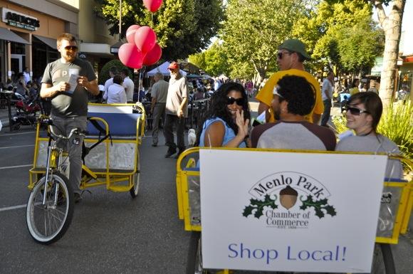 2014 Menlo Park Block Party is June 18 from 5:00 to 9:00 pm along Santa Cruz Avenue