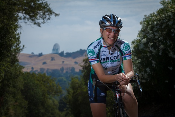 Christine Thorburn landed on the Olympic cycling team while also going to medical school