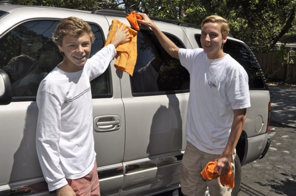 Jack Randall and Christian Freeman started car washing business called Park