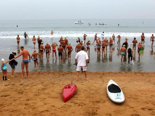10th anniversary swim held in memory of Michele Daschbach Fast held today