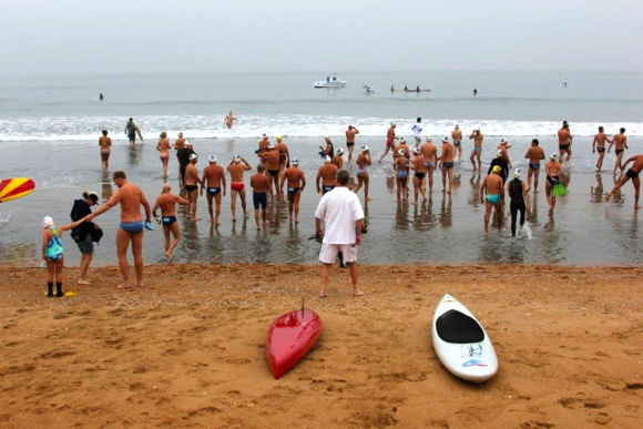 Michele Daschbach Fast remembered in open water swim organized by family members
