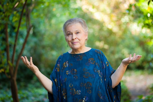 filmmaker Dorothy Fadiman at her home in Menlo Park