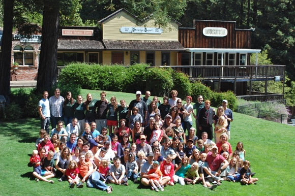 Oak Knoll School families enjoy weekend at Kennolyn Camp to raise money for Menlo Park schools