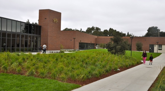 New Sacred Heart Schools lower and middle school campus in Atherton