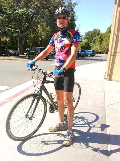 Jym Clenendin starts 2012 Tour de Menlo