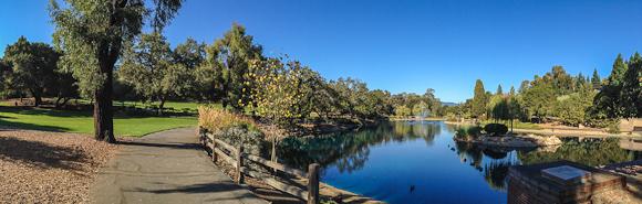 Exploring Panoramas at Menlo Park's Sharon Park