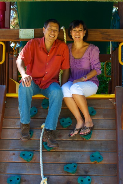 Clint and Allison Chao of Menlo Park